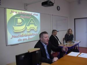 Ing. Rudolf Michalec, Milan Hrušla a Mgr. Anna Medviďová