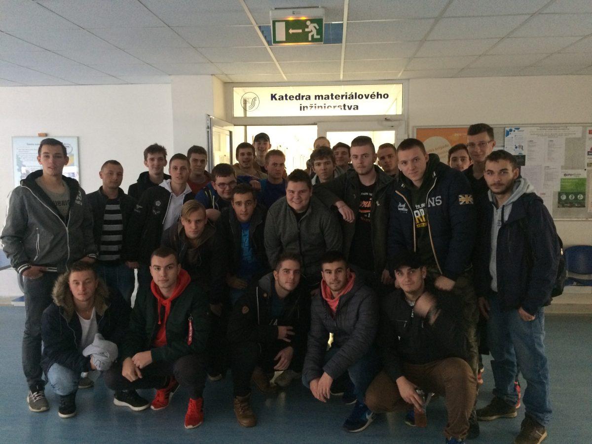 Odborná exkurzia – Žilinská univerzita v Žiline