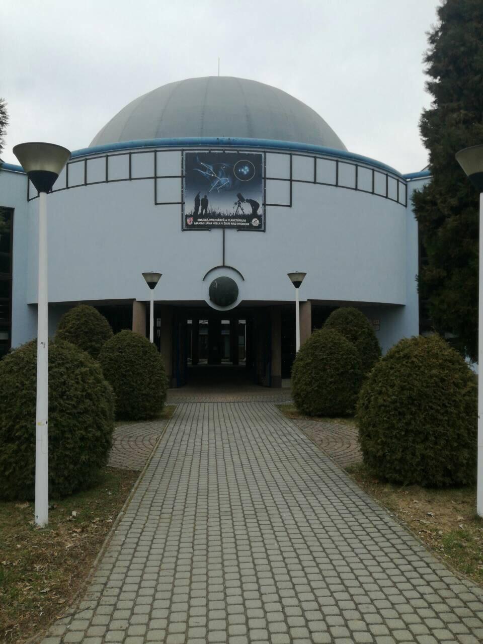 Krajská hvezdáreň a planetárium Maximiliána Hella v Žiari nad Hronom