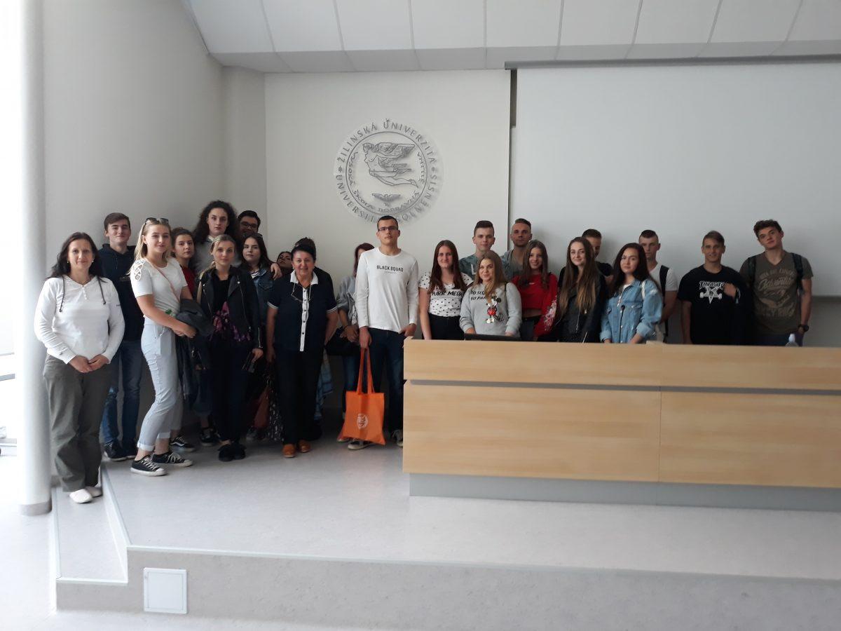 Prednášky pre stredné školy na Žilinskej univerzite v Žiline