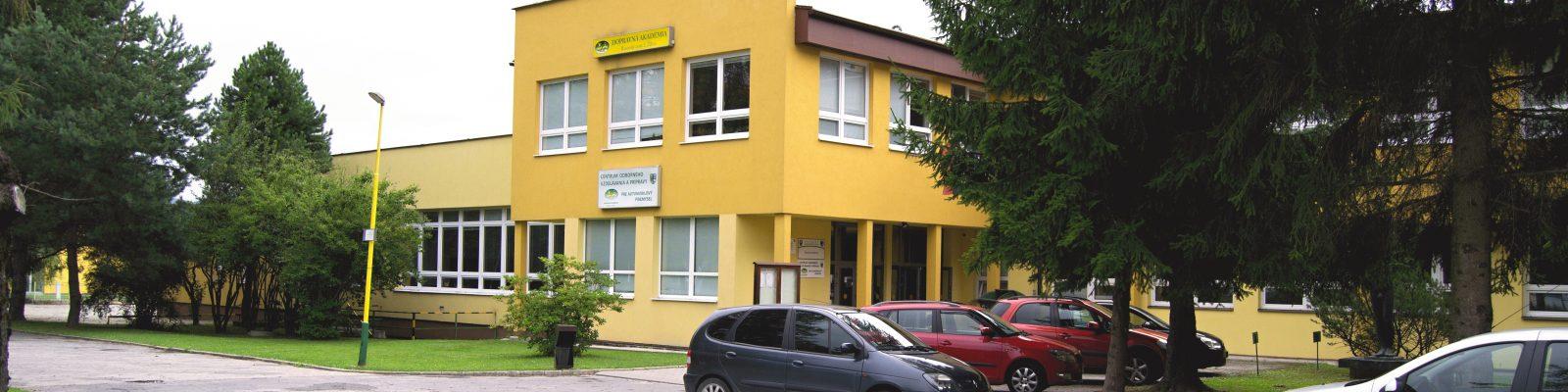 Dopravná akadémia - hlavná budova