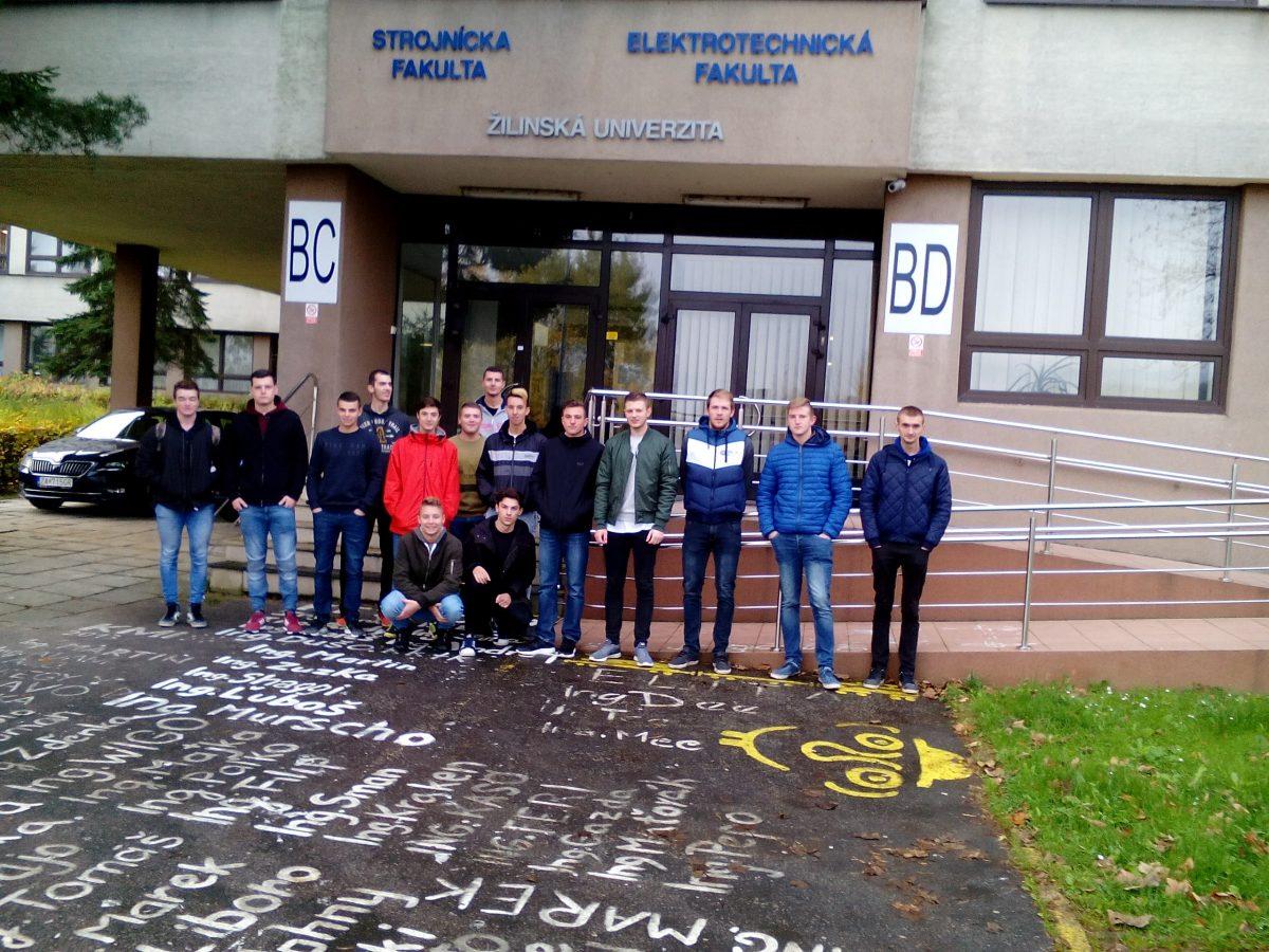 Exkurzia na Katedre merania a aplikovanej elektrotechniky ŽU