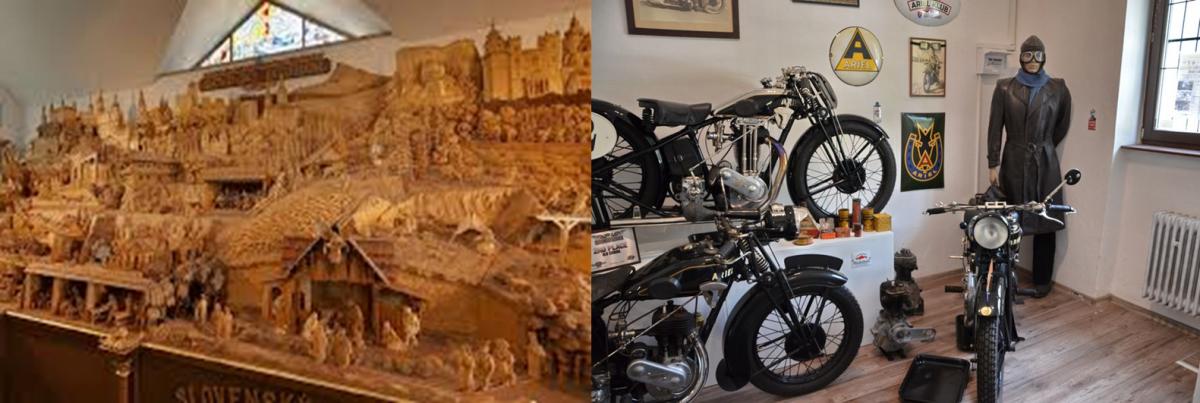 EXKURZIA –  Rajecká Lesná  – Slovenský Betlehem,  Rajecké Teplice – Múzeum dopravy