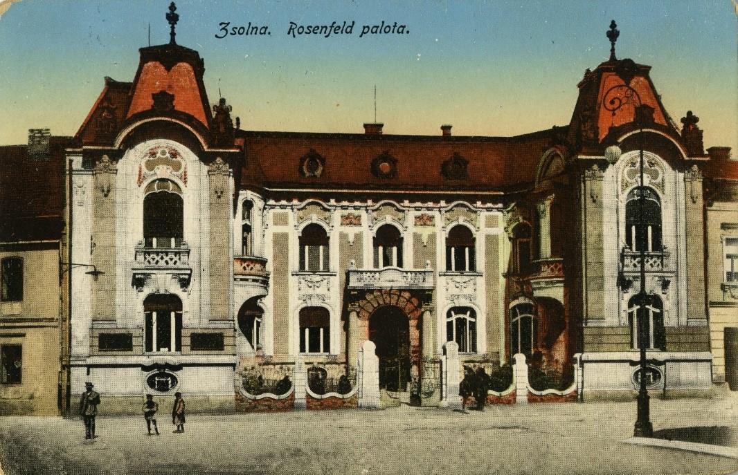 Prehliadka Rosenfeldovho paláca