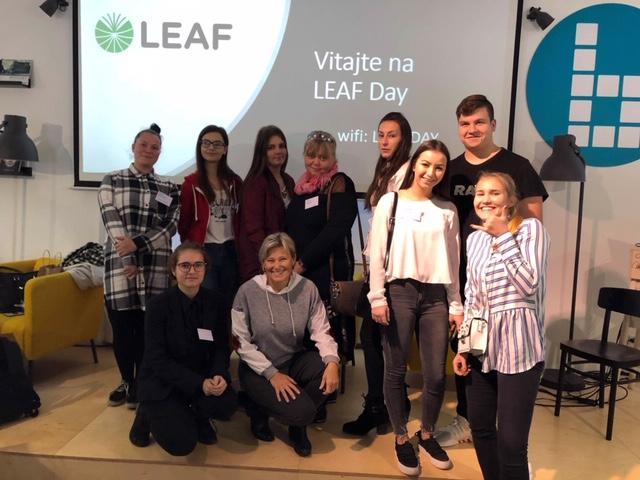 Prvý LEAF Day – Banka Žilina