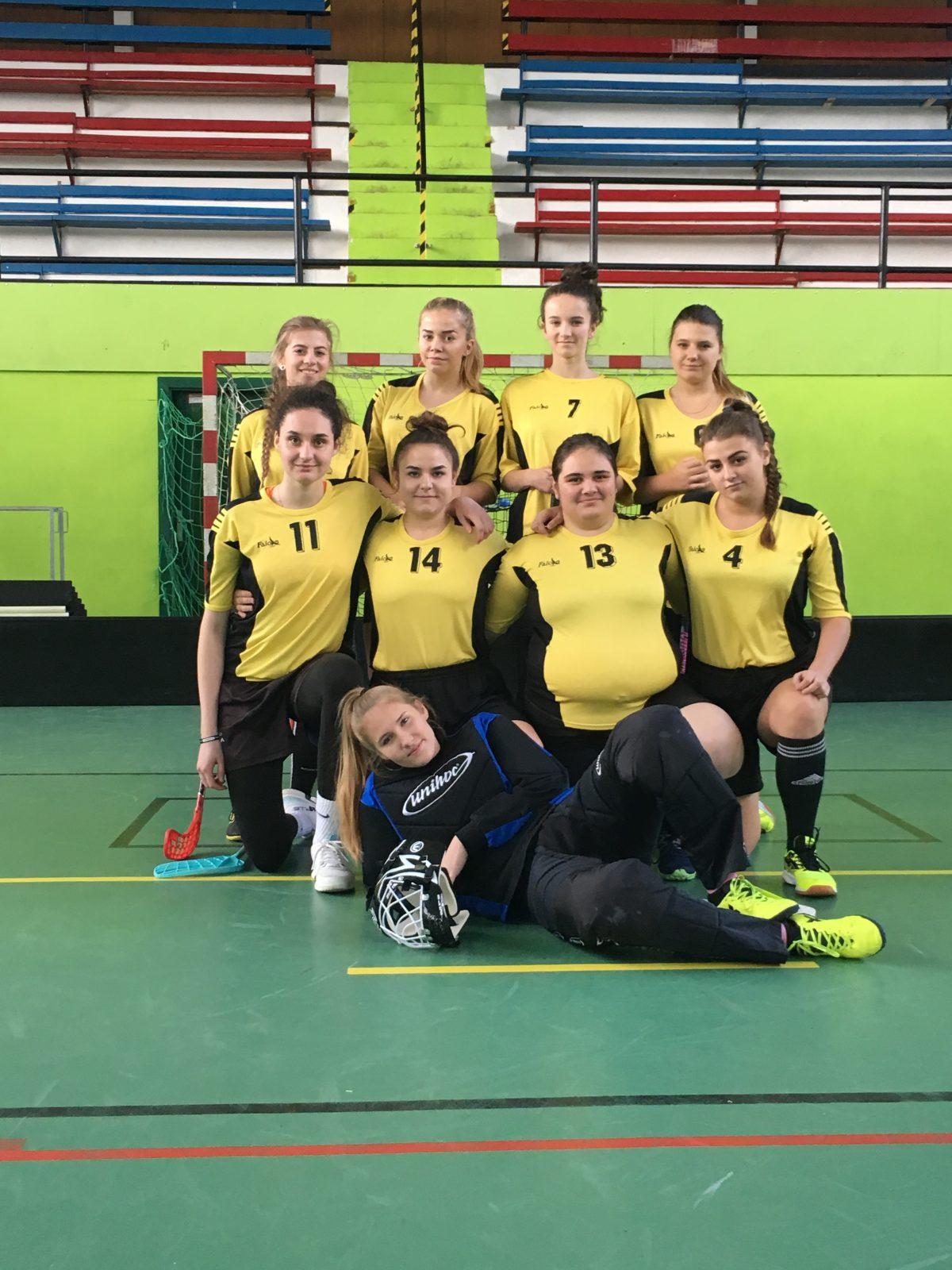 """Športový projekt pre stredné školy """"Floorball SK LIGA"""""""