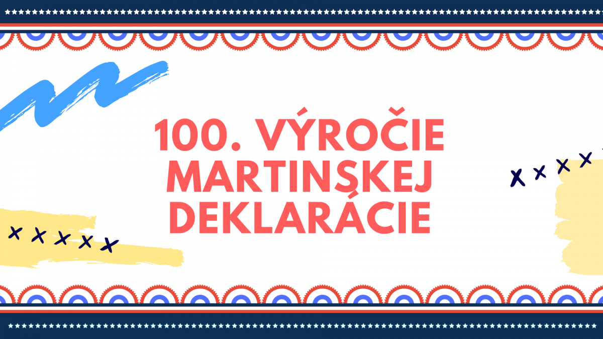 100. výročie Martinskej deklarácie – dejepisná súťaž