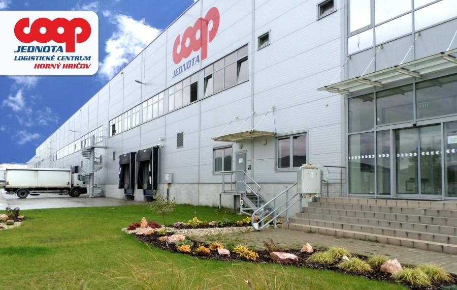 Logistické centrum COOP Jednota, Horný Hričov