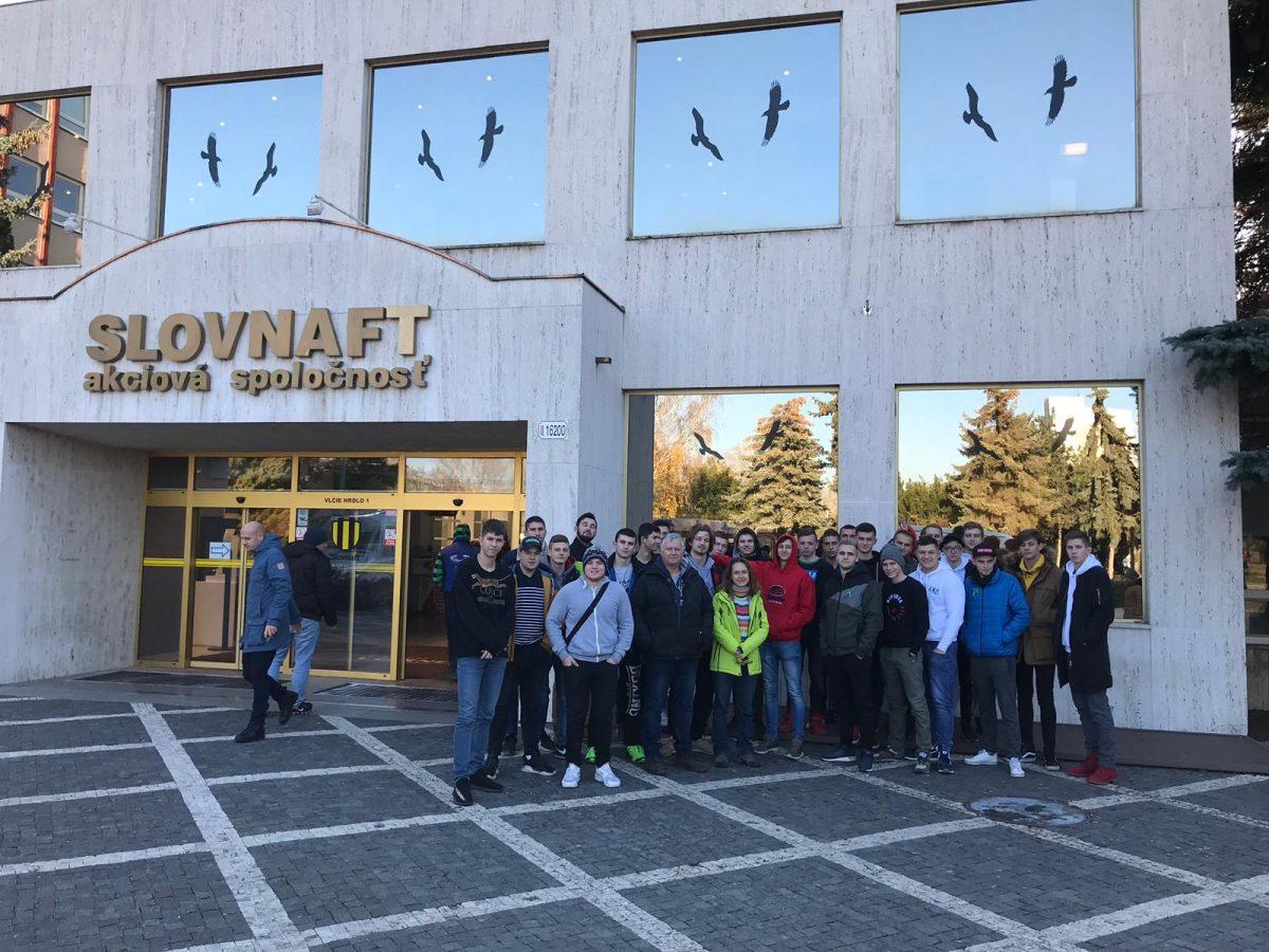 Odborná exkurzia Slovnaft, a.s. – Bratislava 2018