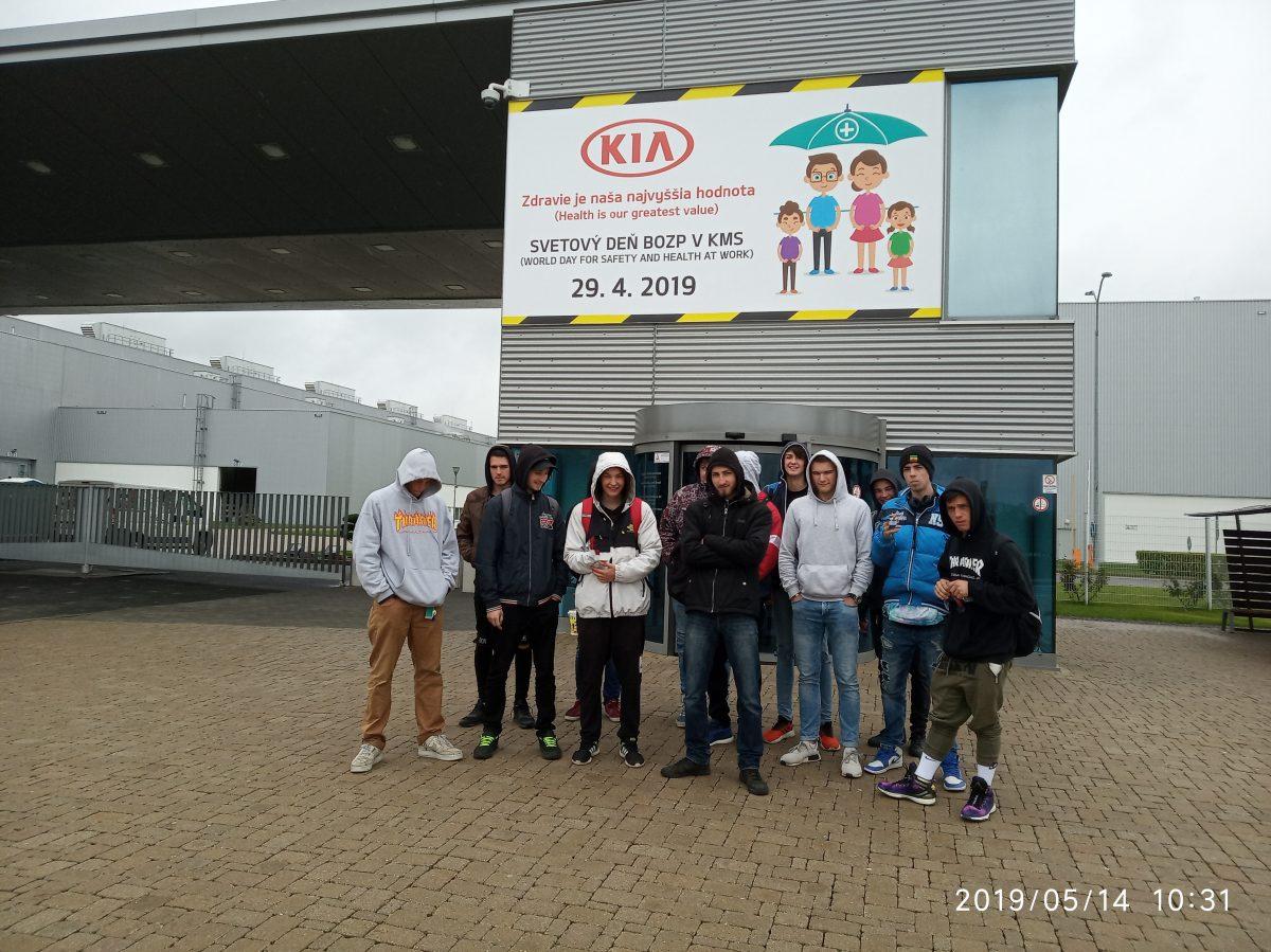 Exkurzia KIA Motors Slovakia