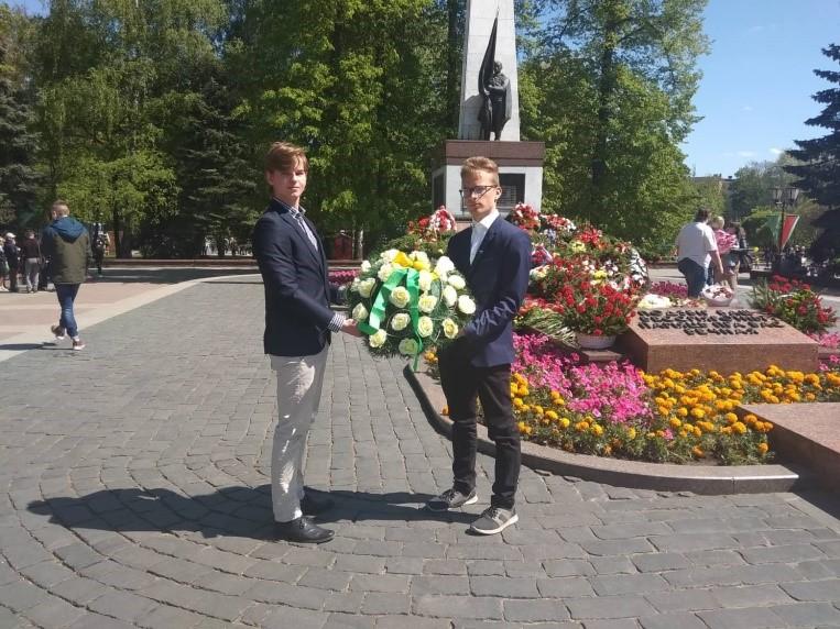 Deň víťazstva v bieloruskom Grodne