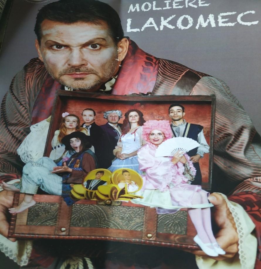 Divadelné predstavenie  LAKOMEC