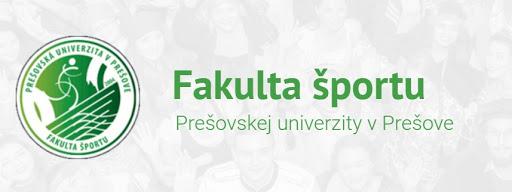 Prešovská univerzita: Fakulta športu – informácie o možnosti štúdia