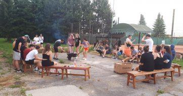Rozlúčka so školským internátom – opekačka
