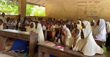 Školské potreby pre deti v Zanzibare